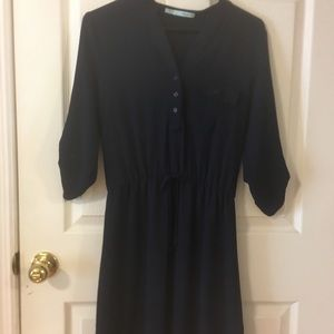 Maurice's Navy blue t-shirt dress size small